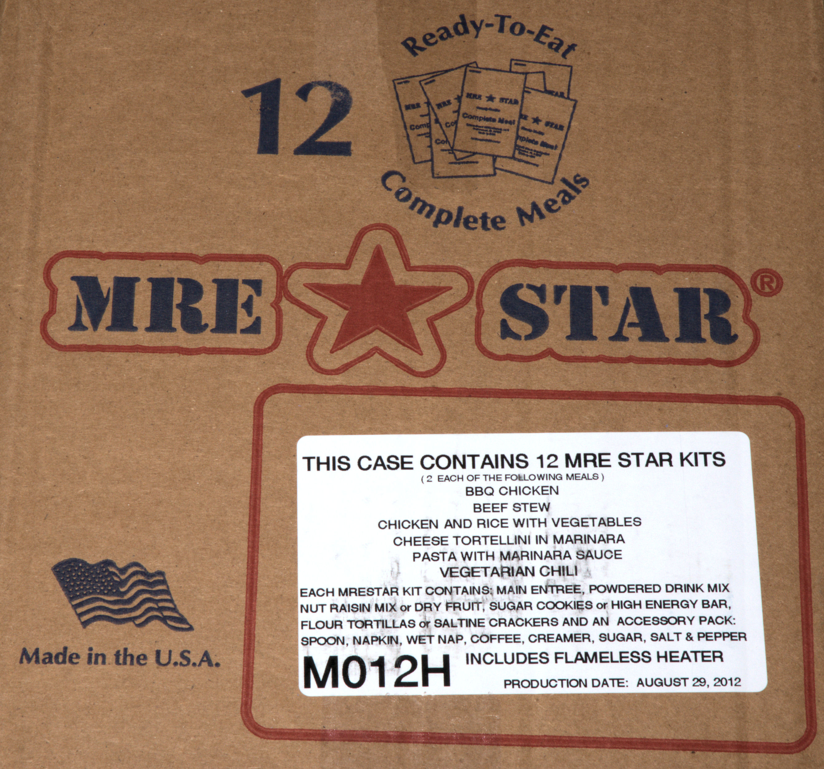 prepper whats ready eat inside shelf life s apartment mre to see meals an what