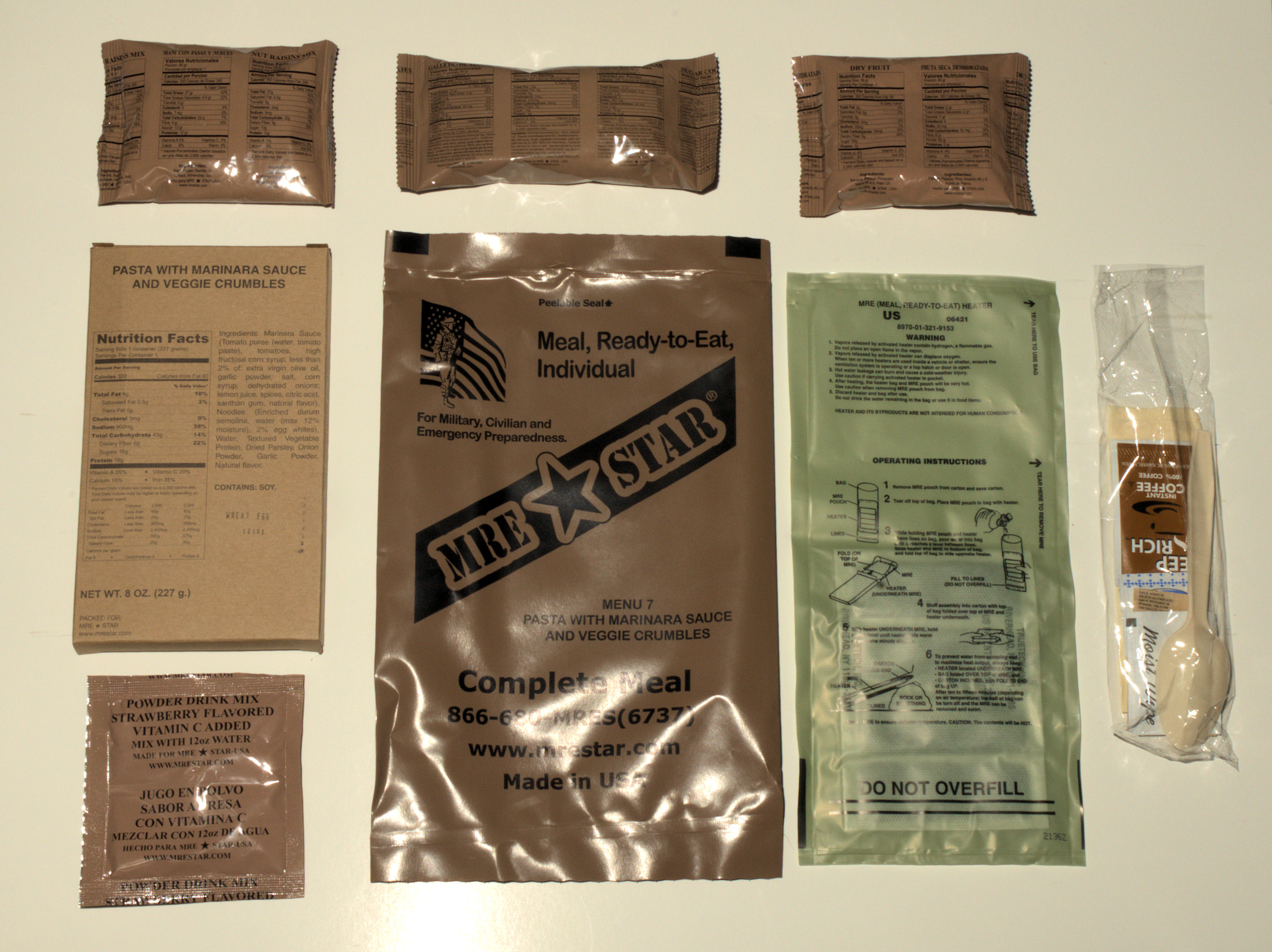 MRE Star Review