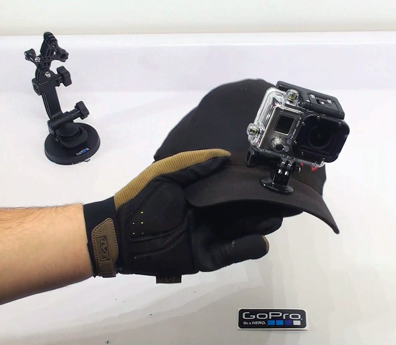 GoPro How to make a GoPro Hat Mount Without Destroying your Hat