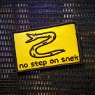NEW: No Step on Snek Patch!