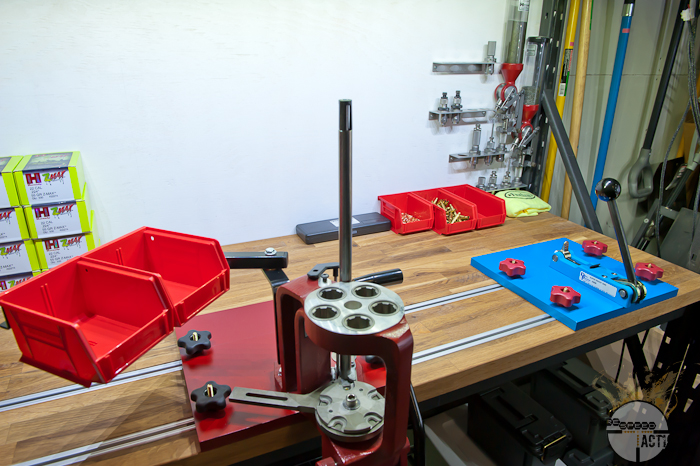 My New Reloading Railed Bench – Part 2