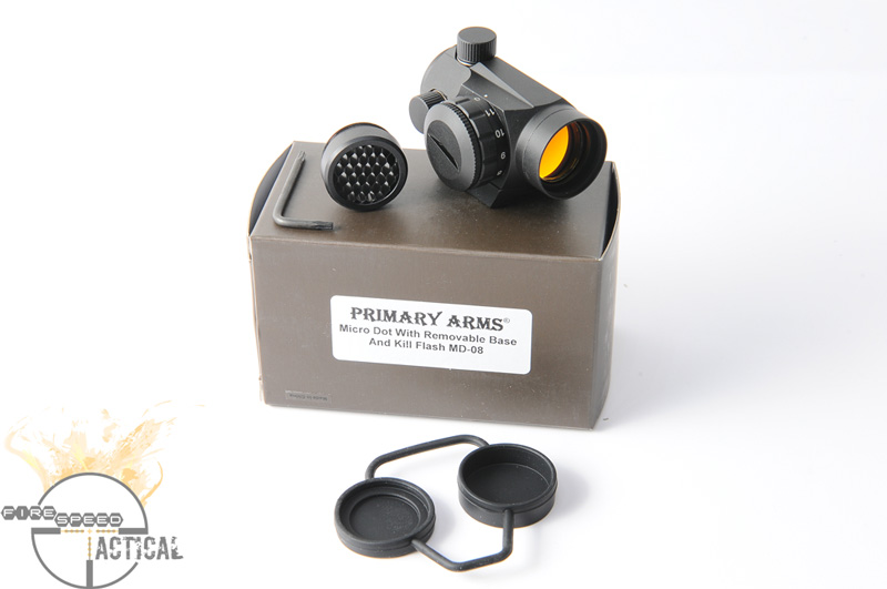 Primary Arms Micro Dot w/ removable base and Seekins Riser Mount