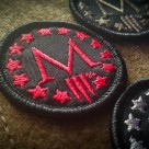 Marksmen *M* Patch Mini – Red