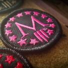 Marksmen *M* Patch Mini – Pink