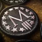 Marksmen *M* Patch Mini – Silver