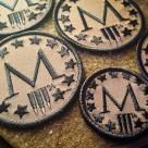 Marksmen *M* Patch Mini – FDE/BLK